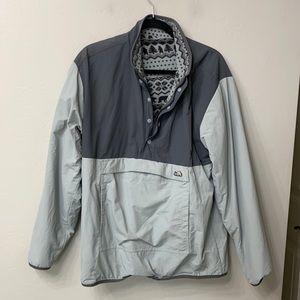 Chubbies reversible fleece jacket size medium